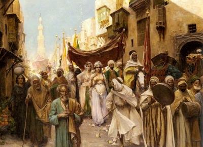 A_Wedding_Procession    (97.5 x 140 cm)